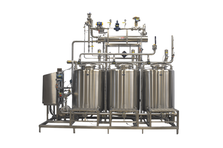 Clean In Place system for beverage processing