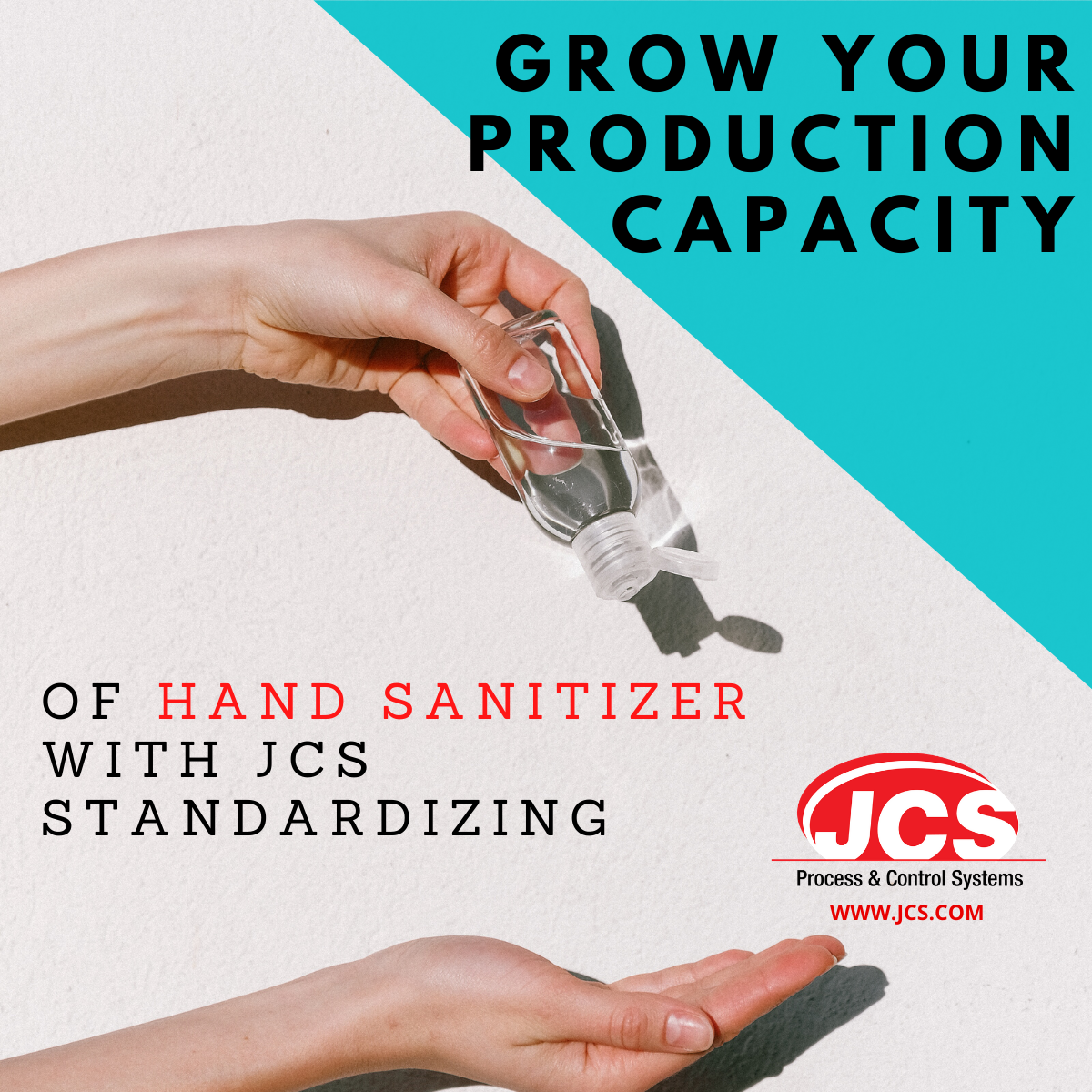 JCS Standardizing for hand sanitizer production