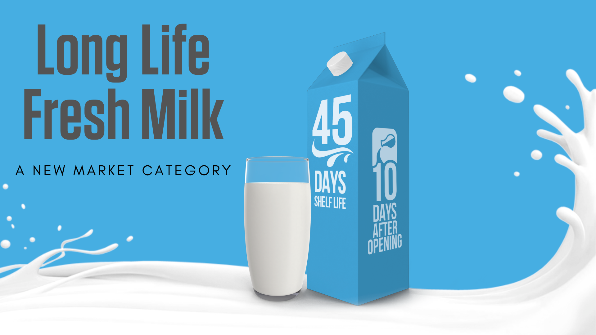 MST Long Life Fresh Milk 45 days