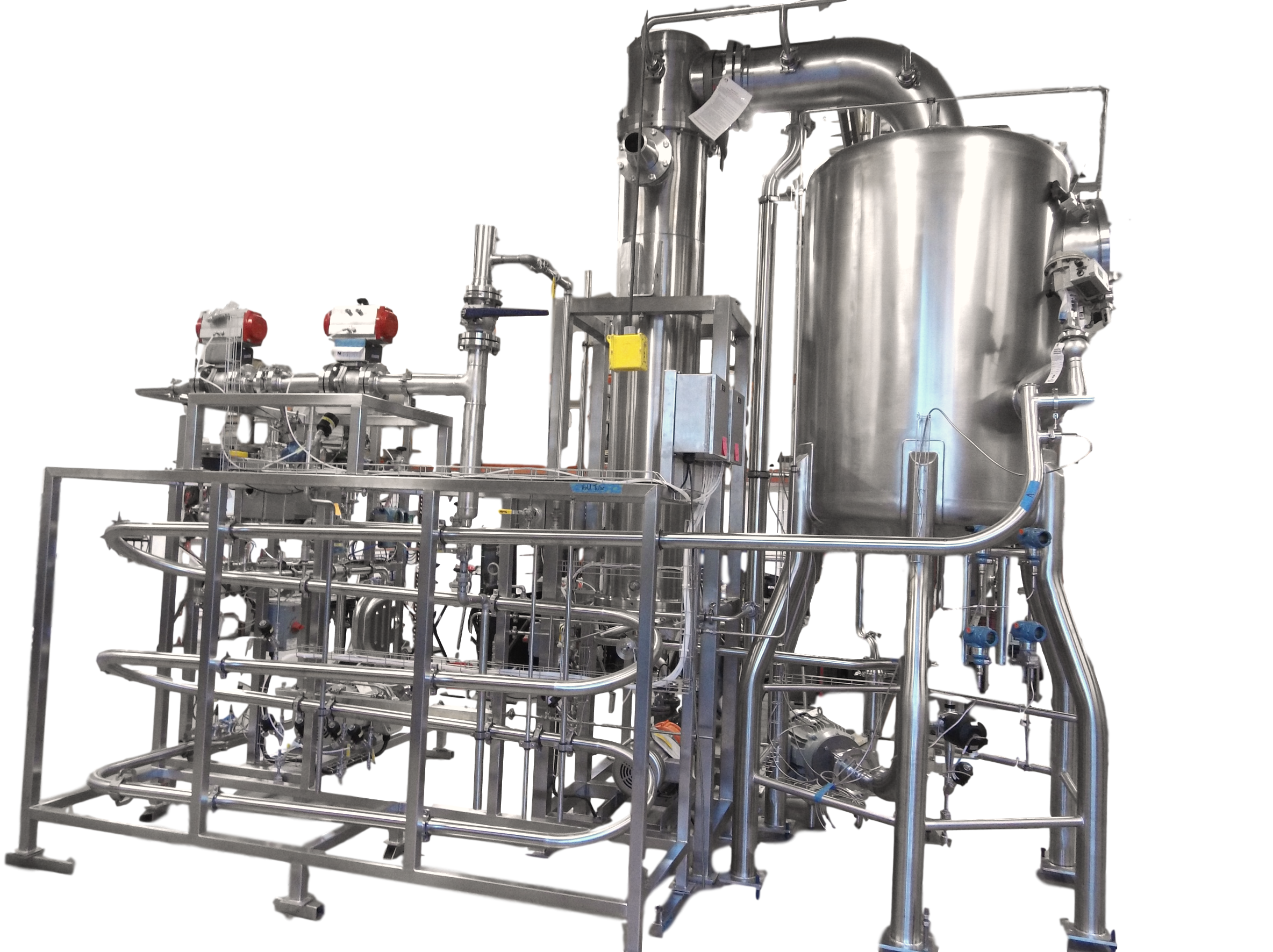 direct steam injection UHT / HHST for clean Low Acid processing for Shelf Stable or Extended Shelf Life (ESL) products.