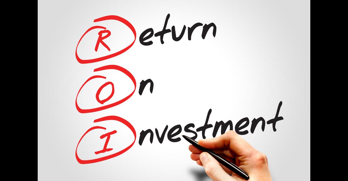 Return on investment JCS UltraBlend™